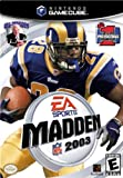 Cheapest Madden NFL 2003 on GameCube