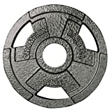 Champion Barbell Olympic Grip Plate, 10 lbs