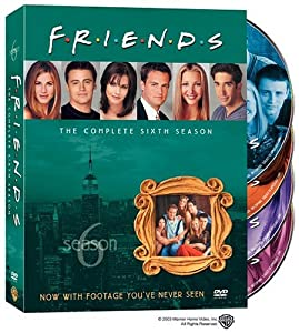 Friends: The Complete Sixth Season by Warner Home Video