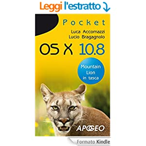 OS X 10.8: Mountain Lion in tasca (Pocket)