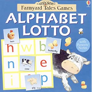 Alphabet Lotto (Farmyard Tales Board Games)