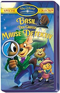 The Great Mouse Detective [VHS] [1986]