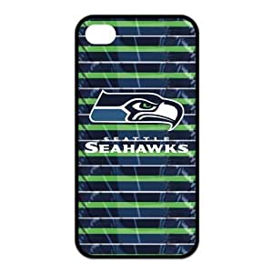 Amazon.com: Unique Fashion Seattle Seahawks Rubber Cases for iPhone 4