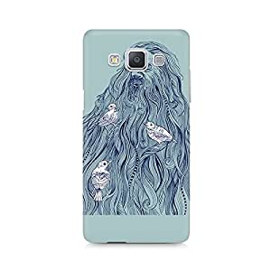 Mobicture Beards Nest Premium Printed Case For Samsung A7