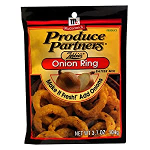 Mix, Zebbie's Onion Ring, 3.7-Ounce Unit : Grocery & Gourmet Food