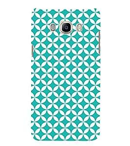 Heavy Green Circle Cute Fashion 3D Hard Polycarbonate Designer Back Case Cover for Samsung Galaxy J7 (6) 2016 Edition :: Samsung Galaxy J7 (2016) Duos :: Samsung Galaxy J7 2016 J710F J710FN J710M J710H