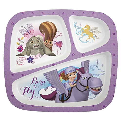 zak-designs-3-section-plate-featuring-sofia-the-first-break-resistant-and-bpa-free-plastic
