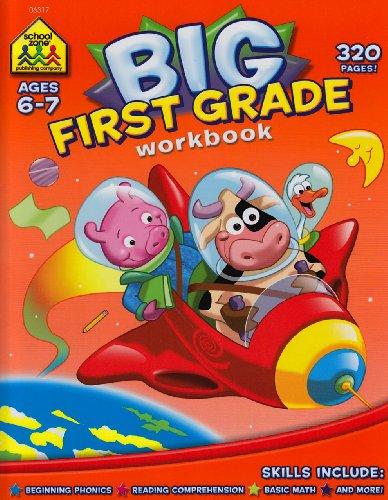 First Grade Big Workbook  Ages 6-7088748347X
