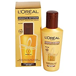 Loreal Smooth Intense Instant Smoothing Serum 100 ml with Ayur Lotion Free