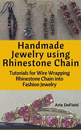 handmade-jewelry-using-rhinestone-chain-tutorials-for-wire-wrapping-rhinestone-chain-into-fashion-je