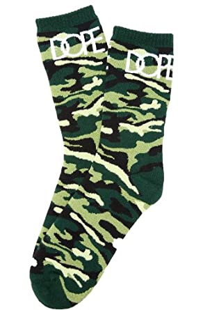 DOPE Men's The Pieds Magnifique Socks One Size Green at Amazon Men's