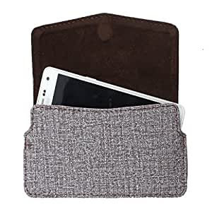 DooDa PU Leather Pouch Case Cover With Card / ID Slots For Micromax Bolt A66