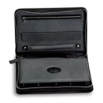 Zippered Leather Watch and Jewelry Case by Underwood