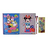 Disneys Minnie And Daisy Ultimate Back To School Set: Spiral Notebooks, Pencil Case, Pencil, And Topper