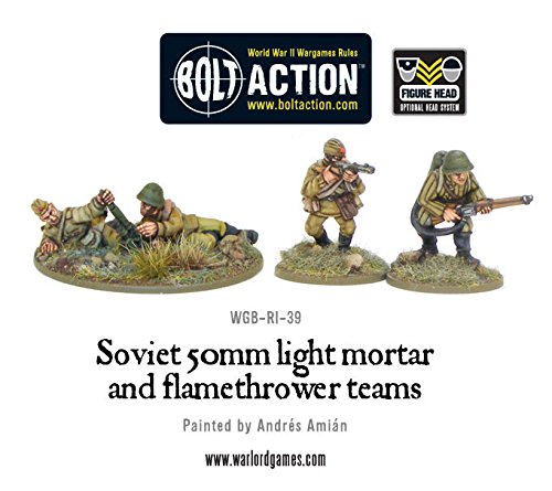 WGB-RI-39 Soviet Army: 50mm light mortar and Flamethrower teams - 1