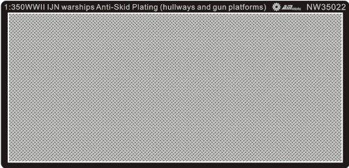 Alliance Model Works 1:350 WWII IJN Warship antiskid plating Hullway & Gun Platforms NW35022
