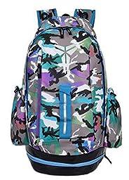 NUOLEI Kobe Bryant backpack black mamba backpack KD du basketball backpack bags for men and women