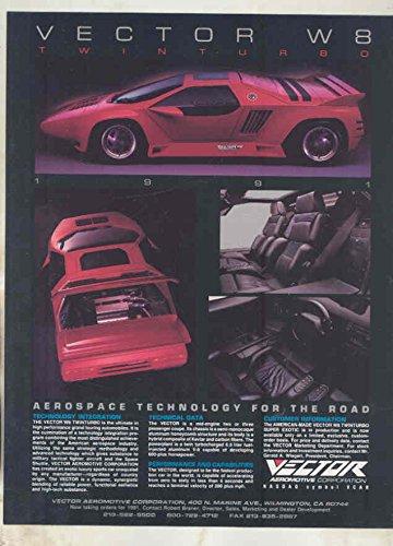 Vector W8 Brochure