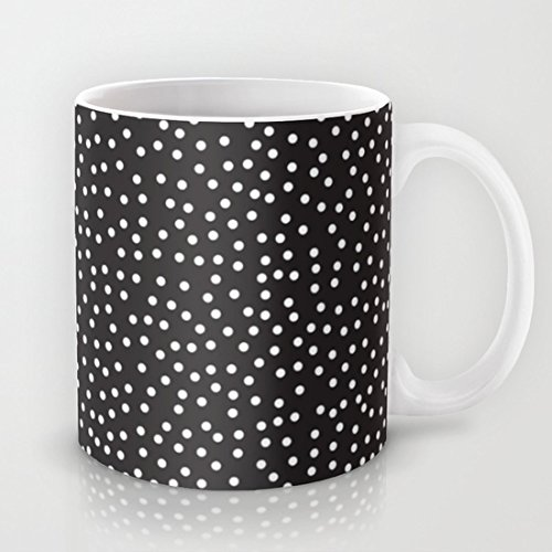 Punkte Geramic lustige Tasse als Geschenk, 11 Unzen Kaffeetasse oder Teetasse