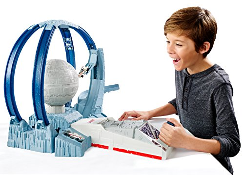 2016 Hot Toy List: Rated Kid-Tested and Parent-Approved (Parents Magazine / Amazon) Hot Wheels Star Wars Carships Death Star Revolution Race Track Set