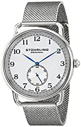 Stuhrling Original Analog White Dial Mens Watch - 207M.01