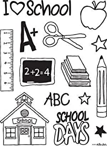 Back To School - Clear Stamps