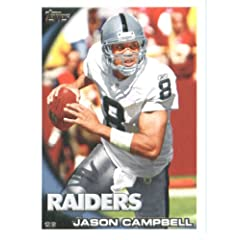 2010 Topps NFL Football Card # 318 Jason Campbell - Oakland Raiders - NFL Trading...