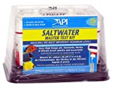 Aquarium Pharmaceuticals 401M Salt Water Aquarium Master Test Kit for Testing High Range pH, Ammonia, Nitrite, and Nitrate Levels