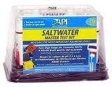 Aquarium Pharmaceuticals 401M Salt Water Aquarium Master Test Kit for Testing High Range pH, Ammonia, Nitrite, and Nitrate Levels