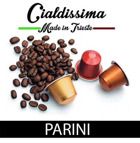 Purchase cialdissima 100 CAPSULES NESPRESSO COFFEE! 100% COMPATIBLE! ITALIAN ESPRESSO! TASTE PARINI! - cialdissima