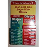 Blistex Lip Balm + Medicated Lip Ointment / 11 Pieces