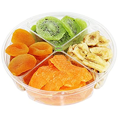 Premium Gourmet Dried Fruits Gift Basket Healthy Assortment Fresh and Natural.
