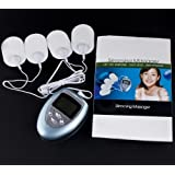 Portable LCD Massage Therapy w/ 4 Electrode Pads
