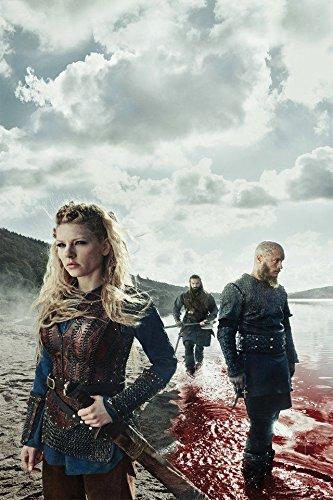 Europe Style 0062 Vikings Season 3 TV Series Lagertha 24x36 Inches Silk Print Poster