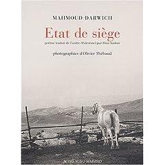 Etat de siège - Mahmoud Darwich