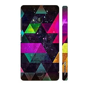 Nokia Lumia 540 Space Fantasy designer mobile hard shell case by Enthopia