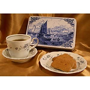 Almond Windmill Cookies