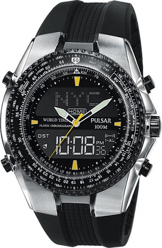 Pulsar Men's Tech Gear Flight Computer Watch #PM7003 - Buy Pulsar Men's Tech Gear Flight Computer Watch #PM7003 - Purchase Pulsar Men's Tech Gear Flight Computer Watch #PM7003 (Pulsar, Jewelry, Categories, Watches, Men's Watches, Casual Watches, Rubber Banded)