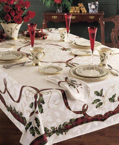 Lenox Holiday Nouveau Tablecloth - 60