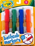 Crayola Bathtub Markers (Pack of 4)