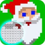 Color by Numbers Happy Christmas Pixel Art game