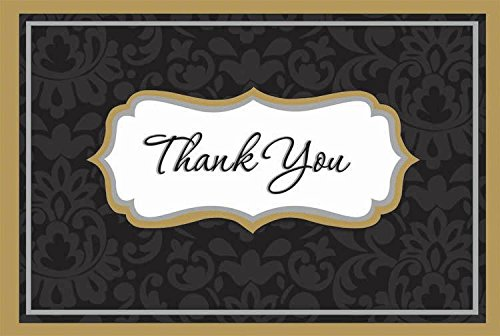 elegance thank you cards - 1