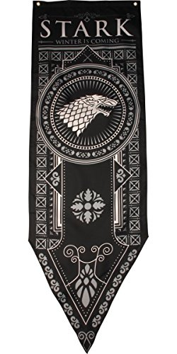 Game of Thrones House Stark Tournament Banner, 18