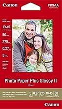 Comprar Canon PP-201 - Papel fotográfico, 10 x 15 cm, 50 hojas