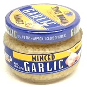 how to use minced garlic in a jar