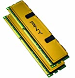 PNY Optima 8 GB (2 x 4 GB) PC3-10666 1333MHz DDR3 Desktop DIMMs Memory Kit MD8192KD3-1333