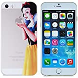Princess Eating/ Snow White Holding Logo Clear Transparent Case For Apple Iphone 6 (4.7-Inch)
