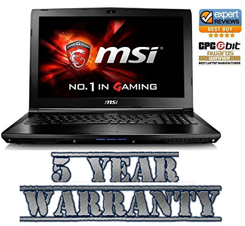 New MSI Gaming Intel i7 Turbo Laptop, 2 Graphics Cards inc a Dedicated 2GB Geforce, 12GB Ram, 1TB HDD, Windows 8.1, inc 5 Year Warranty
