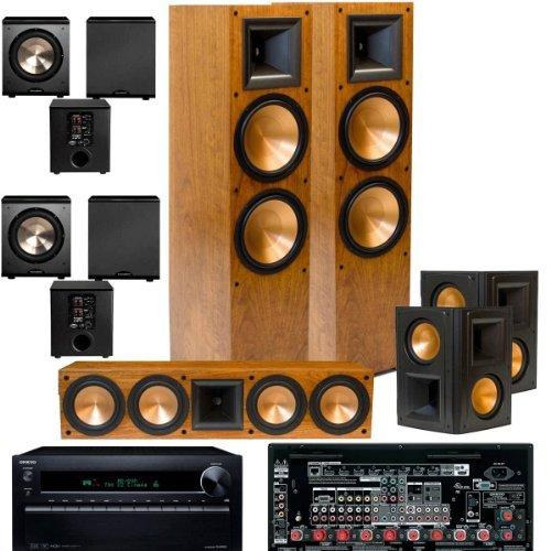 Klipsch Rf-7Ii Black Theater System, Onkyo Tx-Nr929 9.2-Ch-2 Pl-200-Free