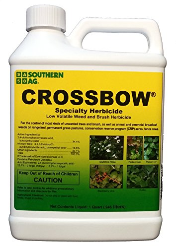 Southern Ag Crossbow Specialty Herbicide 2 4 D & Triclopyr Weed & Brush Killer, 32oz - 1 Quart (Brush Killer Concentrate compare prices)
